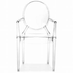 Anime ghost style dining chair dcg stores for Chaise acrylique transparente