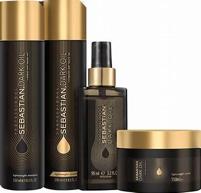 Sebastian Oil Dark Intenso Professional Kit Produtos