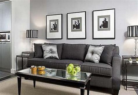 black silver theme living room studio design gallery best design