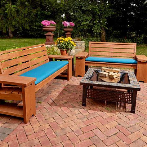incredible pieces  diy outdoor furniture  family