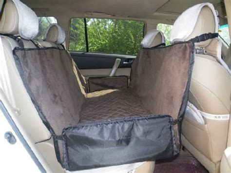 Back Seat Hammock For Dogs by Waterproof Pet Travel Hammock Car Back Seat Cover