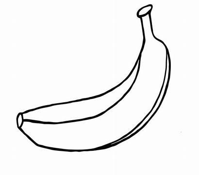 Banana Coloring Pages Bananas Fruit Fun Coloringpagesfortoddlers