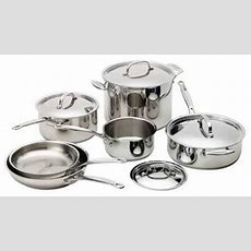Cuisinart 77 10 Chef's Classic Stainless 10 Piece Cookware