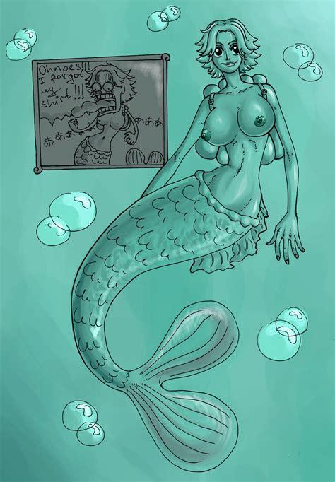 Rule 34 Breasts Camie Mermaid Nipples Nude One Piece