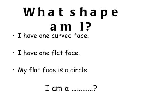 what 3d shape am i