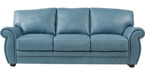 blue italian leather sofa teal leather sofa leather sofas sectionals costco thesofa