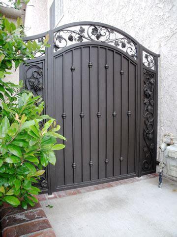 wrought iron gates fences fabrication call