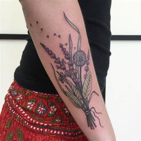 Tatouage Pissenlit, Un Dessin à Fleur De Peau