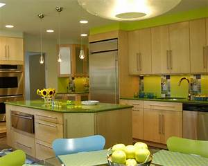 appealing what color matches with green completing With what kind of paint to use on kitchen cabinets for lime green wall art