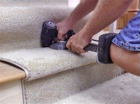 how to lay carpet how to install carpet on stairs the minimalist nyc