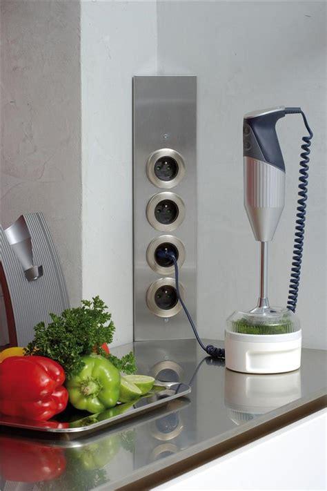 bloc prise electrique cuisine prise de cuisine bloc esquina 2 prises électriques et interrupteur cuisissimo