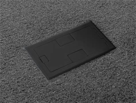 Two gang floor box for hardwood floor   Floor Box Systems?
