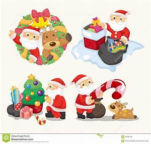 Cute Cartoon Christmas Holiday Stock Vector - Image: 20785782