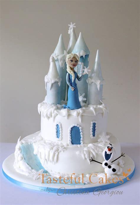 tasteful cakes  christina georgiou frozen birthday