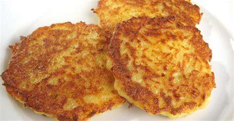 galettes de pommes de terre au four avec ou sans le