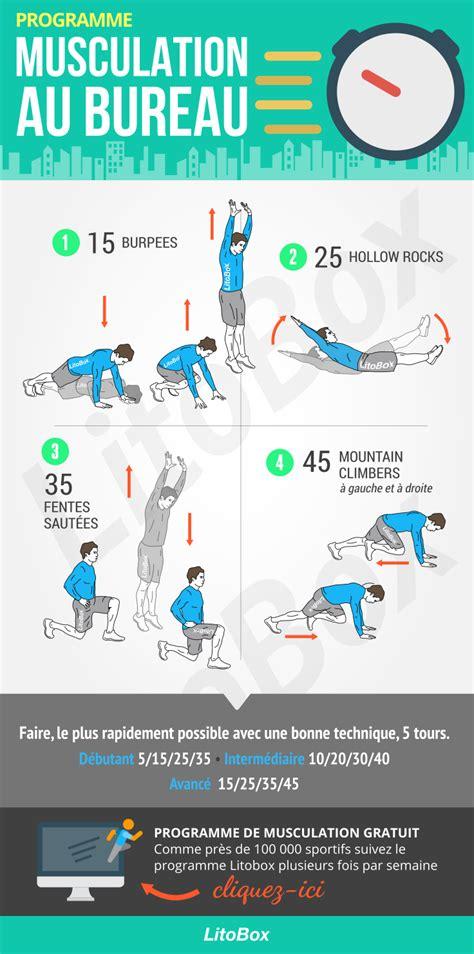 se muscler au bureau sport au bureau 10 exercices faire au bureau pour rester