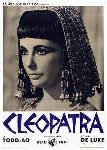"Image result for 1963 - ""Cleopatra"""