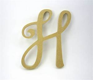 Wooden decorative letters large wooden letters h for Large decorative wooden letters