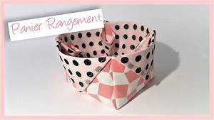 Panier Rangement Bébé Tissu : couture madalena coudre un petit panier rangement youtube ~ Teatrodelosmanantiales.com Idées de Décoration