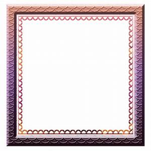 Eva Baxter Designs - Simple Scallop Square Frame by ...