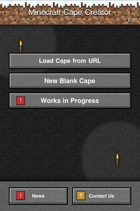 minecraft cape creator iphone utilities apps  craig