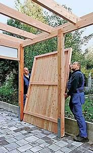 Geräteschuppen Selber Bauen Anleitung : carport mit ger teraum gartenhaus carport bild 18 ~ Lizthompson.info Haus und Dekorationen