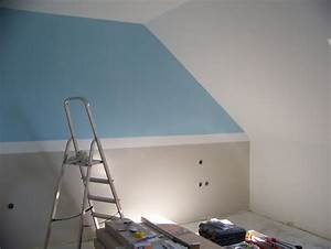 Comment Peindre Une Chambre En 2 Couleurs : comment peindre les murs avec 4 couleurs ~ Melissatoandfro.com Idées de Décoration