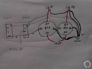 Two Spdt Rocker Spdt Relay Wiring Diagram