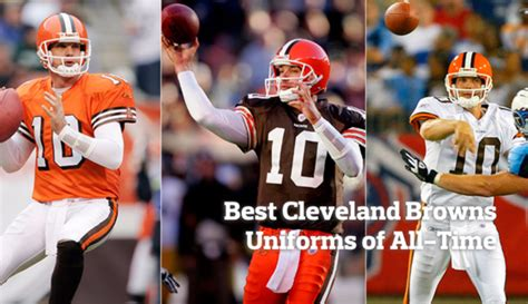 Ranking The Best Cleveland Browns Uniforms Of All-time