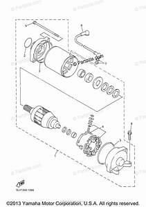 Yamaha Motorcycle 2003 Oem Parts Diagram For Starting
