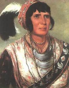 Seminole Chief Osceola, portrait painted by George Catlin ...
