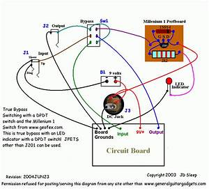 Stompboxed - The Guitar Pedal Builders Repository  Switch    Effect Wiring