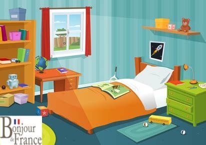 vocabulaire de la chambre la chambre et les pré en français thinglink