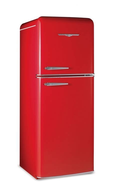 NORTHSTAR : Refrigerators : 1951 top freezer fridge