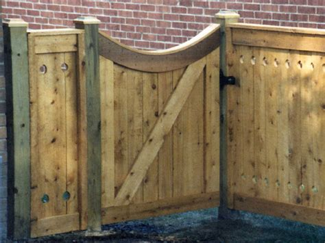 Fence - Gate : Woodwork Wood Fence Gate Designs Pdf Plans
