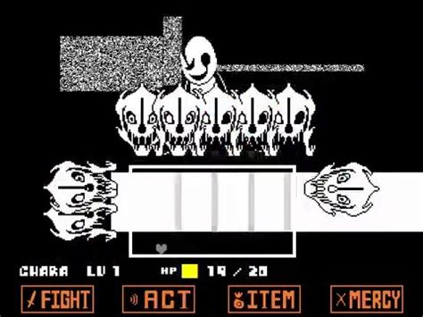 undertale fan games no download undertale pacifist sans and gaster battle fan game youtube