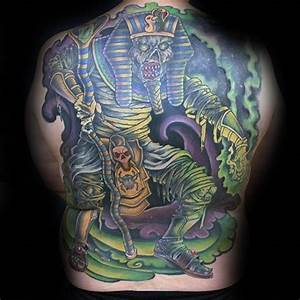 60 Mummy Tattoo Designs For Men - Wrapped Egyptian Ink Ideas