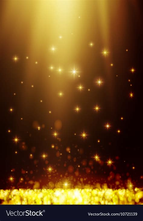 Light Background Images by Yellow Bokeh Abstract Light Background Vector Image