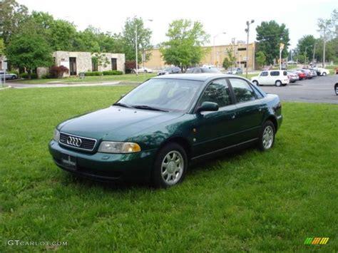 1997 Audi A4 Quattro by Cactus Green Metallic 1997 Audi A4 1 8t Quattro Sedan