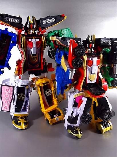 Megaforce Super Zord Delta Runner Rangers Power