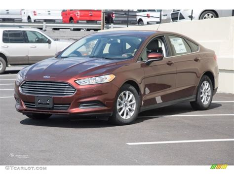 ford fusion colors 2015 bronze metallic ford fusion s 103020913