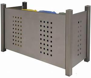 Treppengeländer Selber Bauen Stahl : m lltonnenboxen edelstahl holz m lltonnenverkleidung ~ Lizthompson.info Haus und Dekorationen