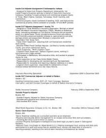 Property Adjuster Resume Sle by Martin Greco Resume 2 3 1
