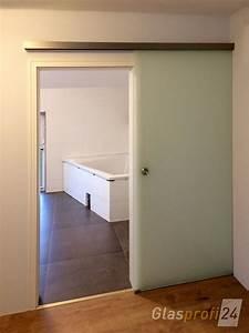 Schiebetür Für Bad : glasschiebet r mit softclose piano glasprofi24 ~ Frokenaadalensverden.com Haus und Dekorationen