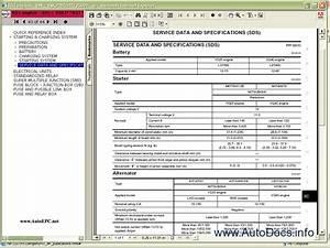 Nissan Pathfinder R51 Series Service Manual Repair Manual