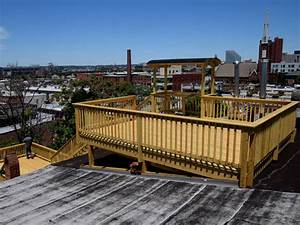Rooftop Deck, Baltimore, Federal Hill - Contemporary