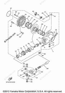 Yamaha Atv 2000 Oem Parts Diagram For Drive Shaft