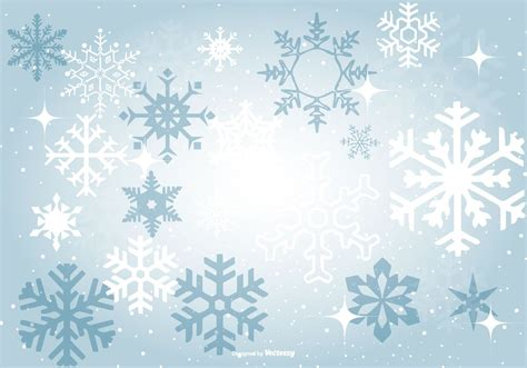 Blue Snowflake Background Clipart beautiful blue snowflake background vector choose from