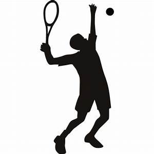 Tennis Player Wall Sticker High Serve Tennis Wall Decal