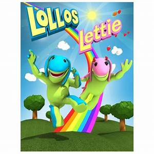 Lollos en Lettie Partytjie Party Pack Sticker - Party